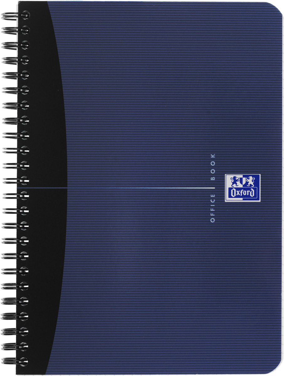 Oxford Тетрадь Essentials 90 листов в клетку цвет синий72523WDКрасивая и практичная тетрадь Oxford Essentials отлично подойдет для школьников, студентов и офисных служащих.Обложка тетради выполнена из плотного, но гибкого ламинированного картона с закругленными краями. Тетрадь формата А5 состоит из 90 белых листов на двойном гребне с линовкой в клетку без полей. Практичное и надежное крепление на гребне позволяет отрывать листы и полностью открывать тетрадь на столе. Тетрадь дополнена съемной закладкой-линейкой из матового полупрозрачного пластика.Высококачественная бумага Optik Paper имеет шелковистую поверхность и высокую белизну, при письме чернила быстро впитываются и не размазываются, надпись не просвечивается с обратной стороны листа. Вне зависимости от профессии и рода деятельности у человека часто возникает потребность сделать какие-либо заметки. Именно поэтому всегда удобно иметь эту тетрадь под рукой, особенно если вы творческая личность и постоянно генерируете новые идеи.