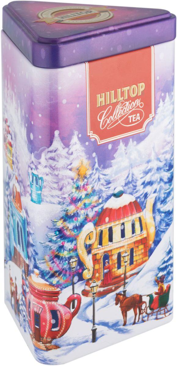 Hilltop Сказочный городок Цейлонское утро черный листовой чай, 80 г0120710Hilltop Цейлонское утро - чёрный байховый чай с мягким ароматом и терпко-сладким вкусом. Поставляется в красочной подарочной упаковке. Отлично подойдет в качестве подарка на новогодние праздники.