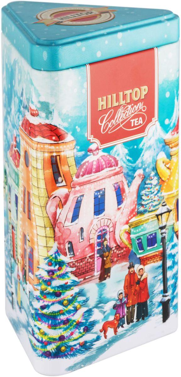 Hilltop Чайные домики Эрл Грей ароматизированный листовой чай, 80 г ароматизированный чёрный чай эрл грей голубой цветок 100 г