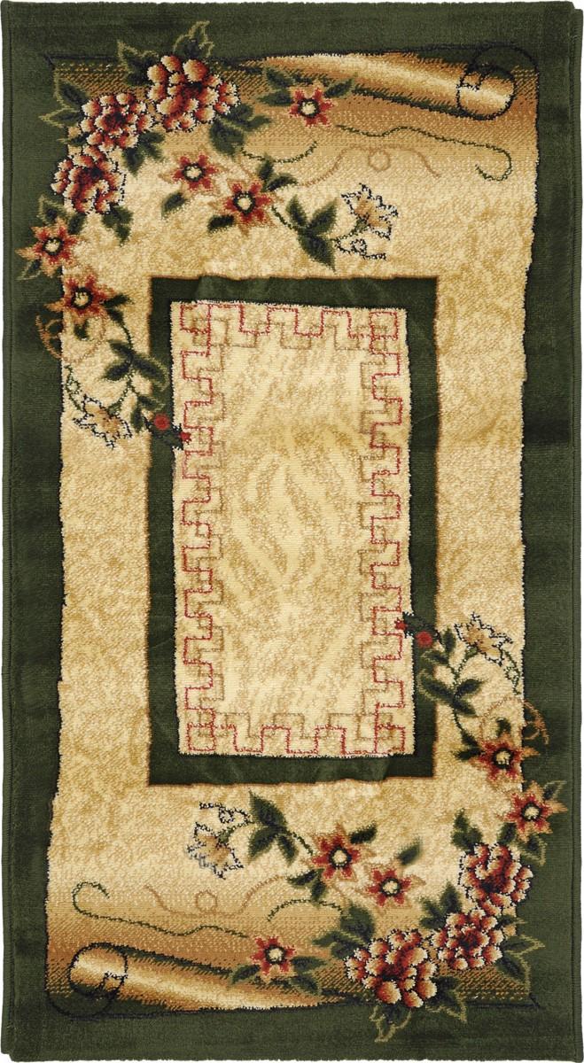 Ковер Kamalak Tekstil, прямоугольный, 60 x 110 см. УК-0058 ковер kamalak tekstil овальный 60 x 110 см ук 0247