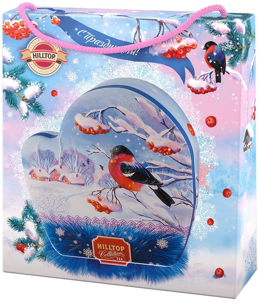 Hilltop Морозное утро Подарок Цейлона черный листовой чай, 80 г101246Hilltop Морозное утро Подарок Цейлона - крупнолистовой цейлонский черный чай с глубоким, насыщенным вкусом и изумительным ароматом. Поставляется в красочной подарочной упаковке. Отлично подойдет в качестве подарка на новогодние праздники.