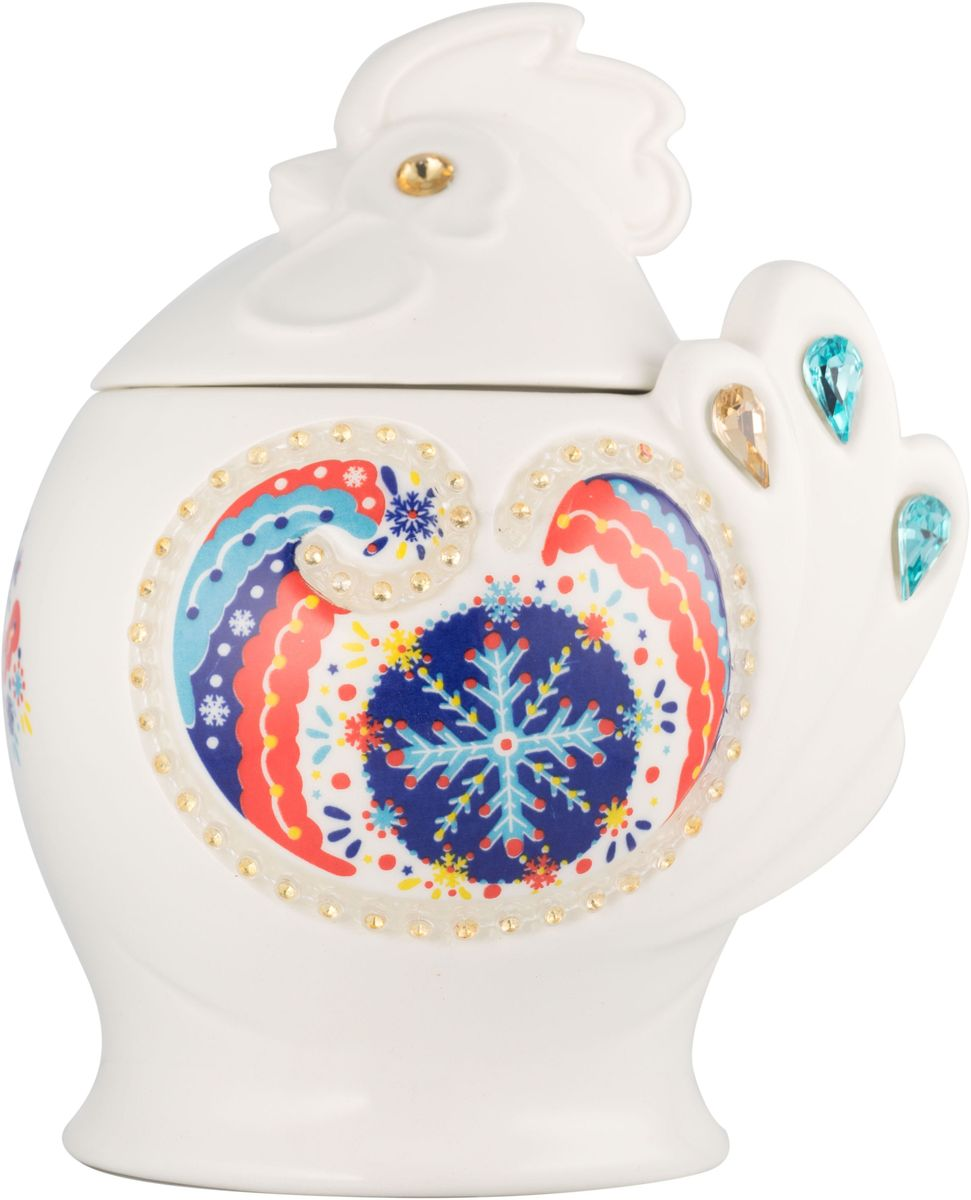Hilltop Символ года Подарок Цейлона черный листовой чай, 50 г (синий)0120710Hilltop Подарок Цейлона - крупнолистовой цейлонский черный чай с глубоким насыщенным вкусом и изумительным ароматом. Помимо великолепного чая, в комплекте вы найдете керамическую чайницу Символ года.