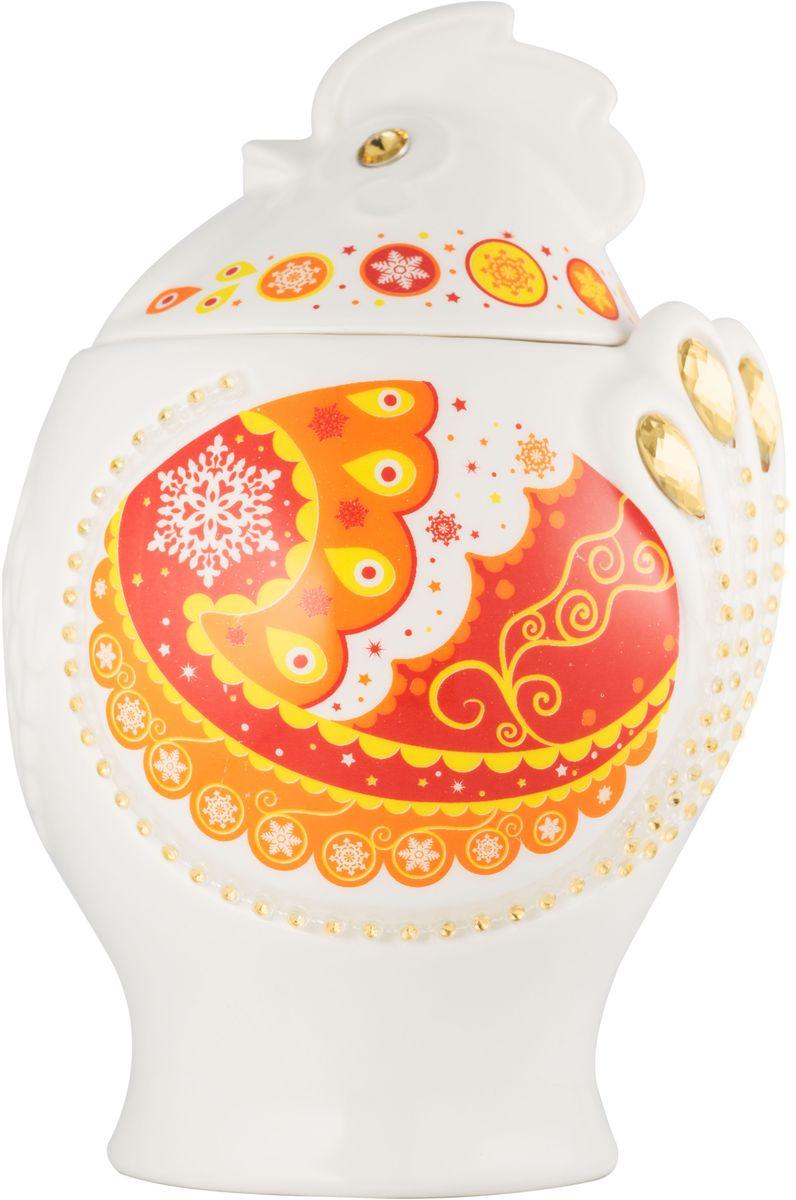 Hilltop Символ года Цейлонский бриз черный листовой чай, 100 г (красный)101246Чай Цейлонский бриз - Крупнолистовой черный байховый чай с легкой терпкой нотой и янтарным цветом