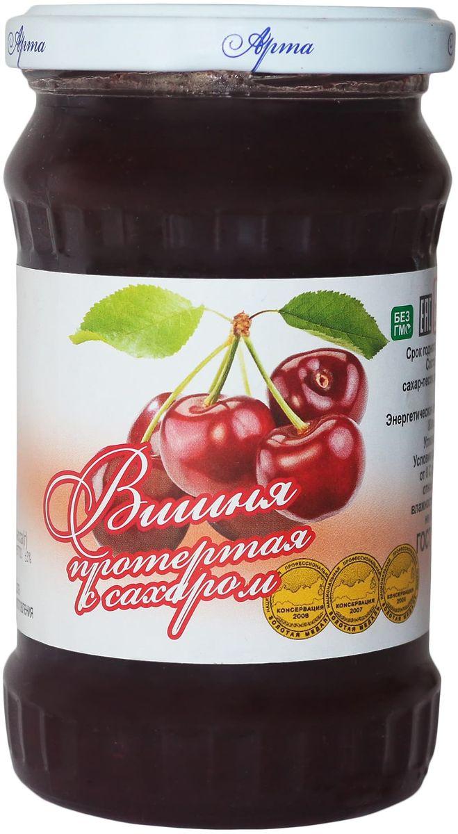 Арта вишня протертая с сахаром, 350 г арта смородина протертая с сахаром 350 г