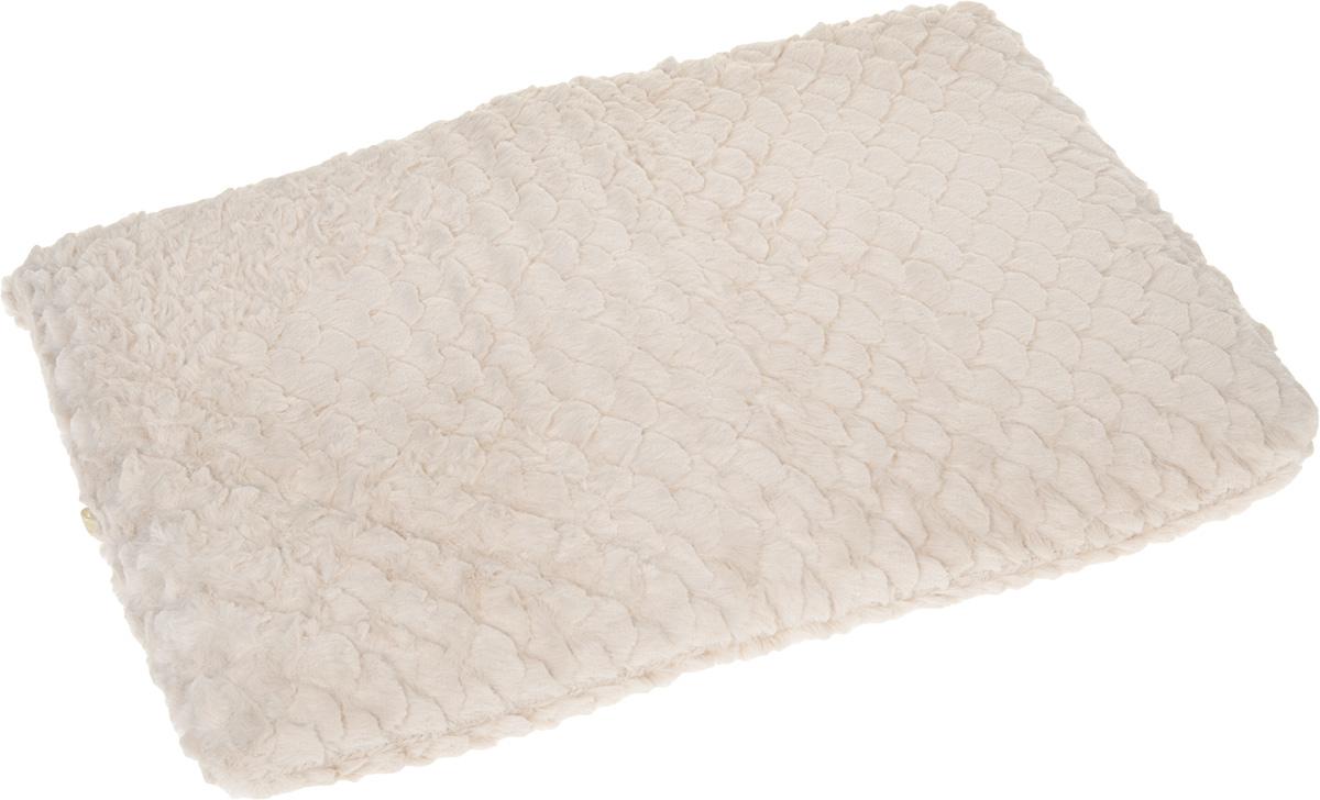 Лежанка для животных Fairy Home Textile, цвет: бежевый, 58 x 40 х 4 см0120710Лежанка для животных Fairy Home Textile изготовлена из высококачественного текстиля и искусственного меха. Идеальна для клеток, переносок, автомобилей, для полов с любым покрытием. Поддерживает температурный баланс вашего питомца и зимой, и летом. Цвет позволяет лежанке выглядеть привлекательной даже в период линьки. Наполнитель выполнен из мягкого пенополиуретана. Лежанка легко складывается для перевозки и хранения.На дне лежанки имеется змейка, благодаря которой наполнитель можно вынуть.Возможна только ручная стирка.
