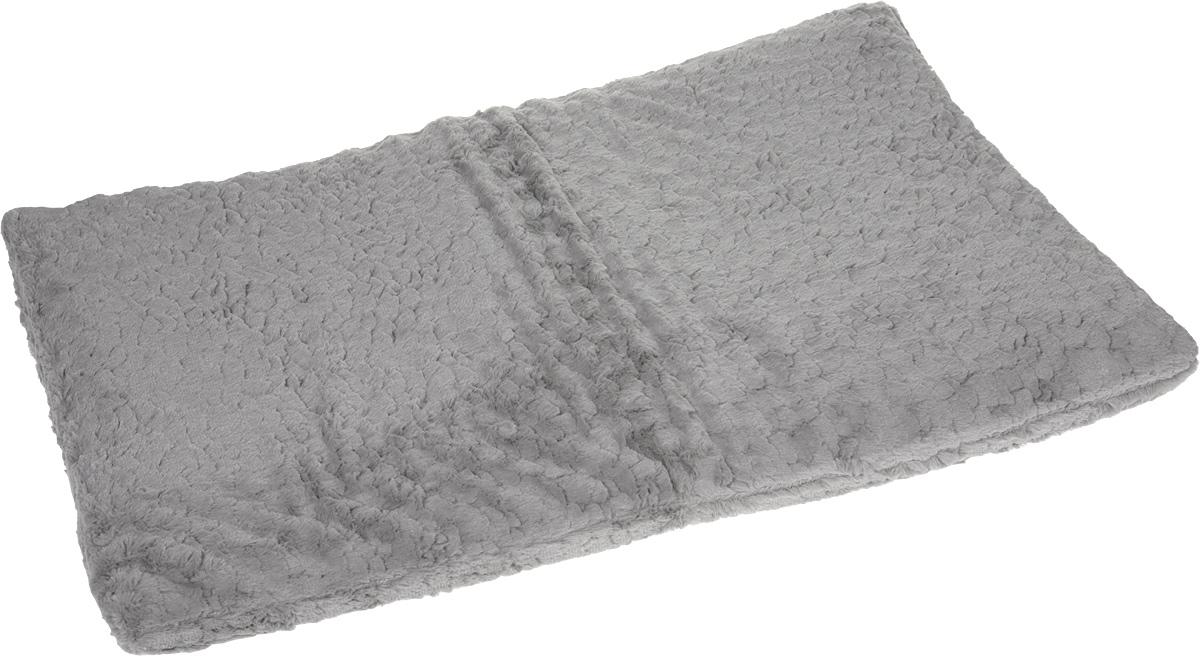 Лежанка для животных Fairy Home Textile, цвет: серый, 91 x 60 х 4 см0120710Лежанка для животных Fairy Home Textile изготовлена из высококачественного текстиля и искусственного меха. Идеальна для клеток, переносок, автомобилей, для полов с любым покрытием. Поддерживает температурный баланс вашего питомца и зимой, и летом. Цвет позволяет лежанке выглядеть привлекательной даже в период линьки. Наполнитель выполнен из мягкого пенополиуретана. Лежанка легко складывается для перевозки и хранения.На дне лежанки имеется змейка, благодаря которой наполнитель можно вынуть.Возможна только ручная стирка.
