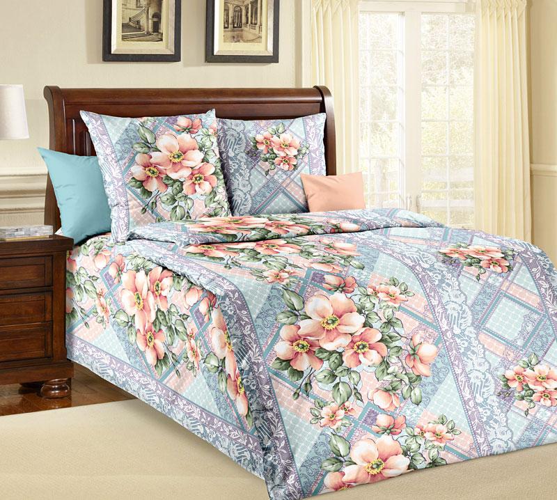 Комплект белья Текс-Дизайн Мальвина 3, 1,5-спальный, наволочки 70x70CA-3505Если вы ищете сочетание спокойных оттенков и классического цветочного дизайна, то постельное белье Мальвина - это то, что вам нужно. Из сочетания оригинальных цветочных букетов и сиренево-голубых геометрических узоров родилась эксклюзивная, универсальная и элегантная расцветка.Бязь - хлопчатобумажная плотная ткань полотняного переплетения. Отличается прочностью и стойкостью к многочисленным стиркам. Бязь считается одной из наиболее подходящих тканей, для производства постельного белья и пользуется в России большим спросом.