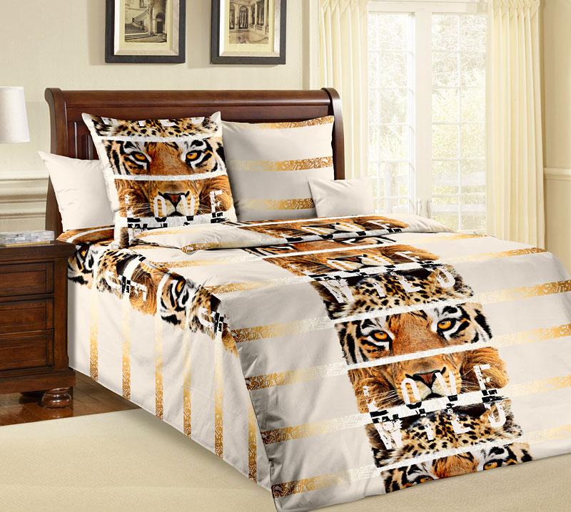 Комплект белья Текс-Дизайн Саванна, 1,5-спальный, наволочки 70x70391602Саванна – это сочетание бежевых оттенков и золотистых орнаментов, реалистичных принтов и оригинального оформления композиции. Это бязевое постельное белье пропитано любовью к дикой природе и воплощает в себе современный стиль. Хищные принты по-прежнему в моде, поэтому купив это постельное белье, вы получите не только оптимальное соотношение цены и качества, но и актуальный дизайн для оформления спальни. Бязь - хлопчатобумажная плотная ткань полотняного переплетения. Отличается прочностью и стойкостью к многочисленным стиркам. Бязь считается одной из наиболее подходящих тканей, для производства постельного белья и пользуется в России большим спросом.