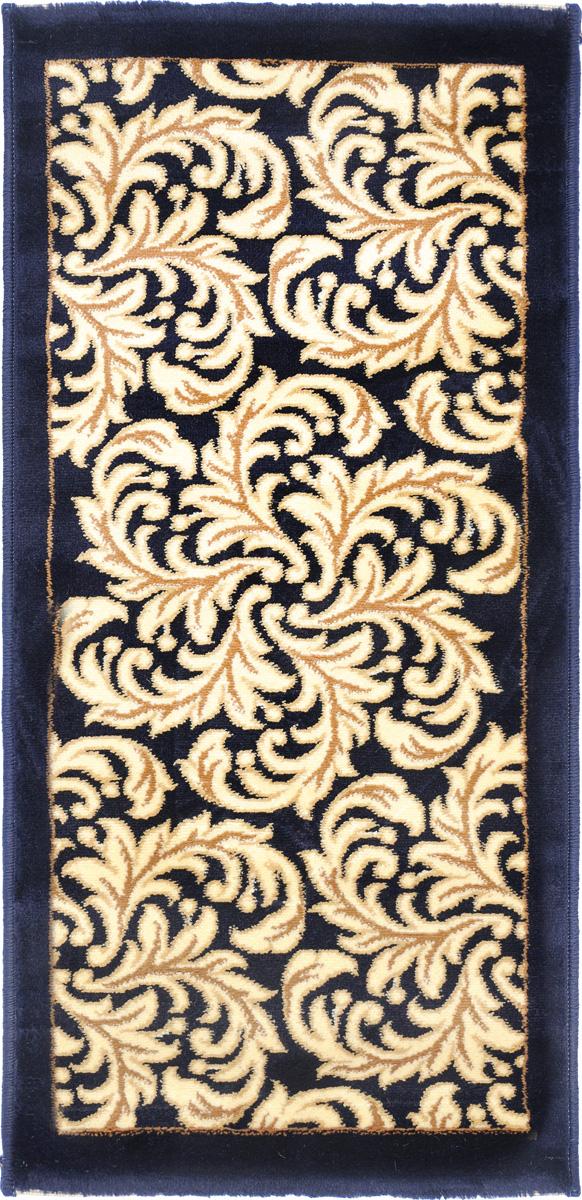 Ковер Kamalak Tekstil, прямоугольный, 50 x 100 см. УК-0497WUB 5647 weisКовер Kamalak Tekstil изготовлен из прочного синтетического материала heat-set, улучшенного варианта полипропилена (эта нить получается в результате его дополнительной обработки). Полипропилен износостоек, нетоксичен, не впитывает влагу, не провоцирует аллергию. Структура волокна в полипропиленовых коврах гладкая, поэтому грязь не будет въедаться и скапливаться на ворсе. Практичный и износоустойчивый ворс не истирается и не накапливает статическое электричество. Ковер обладает хорошими показателями теплостойкости и шумоизоляции. Оригинальный рисунок позволит гармонично оформить интерьер комнаты, гостиной или прихожей. За счет невысокого ворса ковер легко чистить. При надлежащем уходе синтетический ковер прослужит долго, не утратив ни яркости узора, ни блеска ворса, ни упругости. Самый простой способ избавить изделие от грязи - пропылесосить его с обеих сторон (лицевой и изнаночной). Влажная уборка с применением шампуней и моющих средств не противопоказана. Хранить рекомендуется в свернутом рулоном виде.
