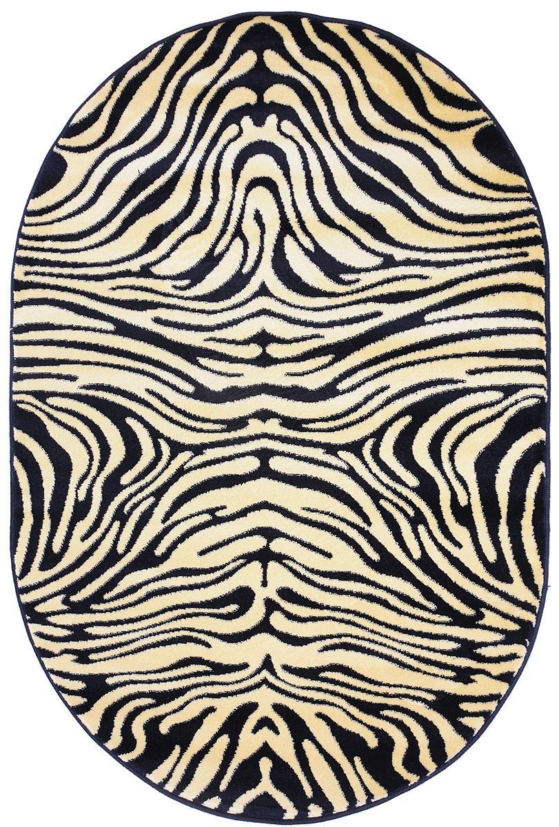 Ковер Kamalak Tekstil, овальный, 100 x 150 см. УК-0033ES-412Ковер Kamalak Tekstil изготовлен из прочного синтетического материала heat-set, улучшенного варианта полипропилена (эта нить получается в результате его дополнительной обработки). Полипропилен износостоек, нетоксичен, не впитывает влагу, не провоцирует аллергию. Структура волокна в полипропиленовых коврах гладкая, поэтому грязь не будет въедаться и скапливаться на ворсе. Практичный и износоустойчивый ворс не истирается и не накапливает статическое электричество. Ковер обладает хорошими показателями теплостойкости и шумоизоляции. Оригинальный рисунок позволит гармонично оформить интерьер комнаты, гостиной или прихожей. За счет невысокого ворса ковер легко чистить. При надлежащем уходе синтетический ковер прослужит долго, не утратив ни яркости узора, ни блеска ворса, ни упругости. Самый простой способ избавить изделие от грязи - пропылесосить его с обеих сторон (лицевой и изнаночной). Влажная уборка с применением шампуней и моющих средств не противопоказана. Хранить рекомендуется в свернутом рулоном виде.