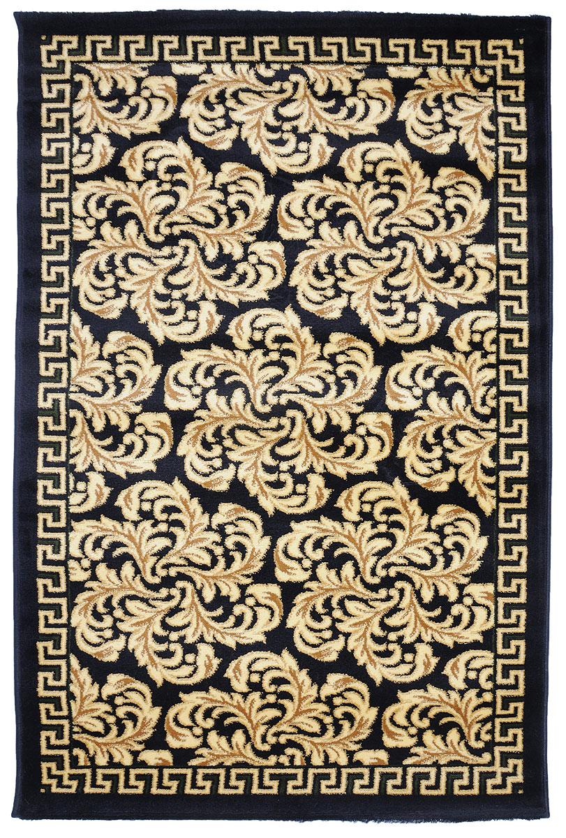 Ковер Kamalak Tekstil, прямоугольный, 100 x 150 см. УК-027222461Ковер Kamalak Tekstil изготовлен из прочного синтетического материала heat-set, улучшенного варианта полипропилена (эта нить получается в результате его дополнительной обработки). Полипропилен износостоек, нетоксичен, не впитывает влагу, не провоцирует аллергию. Структура волокна в полипропиленовых коврах гладкая, поэтому грязь не будет въедаться и скапливаться на ворсе. Практичный и износоустойчивый ворс не истирается и не накапливает статическое электричество. Ковер обладает хорошими показателями теплостойкости и шумоизоляции. Оригинальный рисунок позволит гармонично оформить интерьер комнаты, гостиной или прихожей. За счет невысокого ворса ковер легко чистить. При надлежащем уходе синтетический ковер прослужит долго, не утратив ни яркости узора, ни блеска ворса, ни упругости. Самый простой способ избавить изделие от грязи - пропылесосить его с обеих сторон (лицевой и изнаночной). Влажная уборка с применением шампуней и моющих средств не противопоказана. Хранить рекомендуется в свернутом рулоном виде.