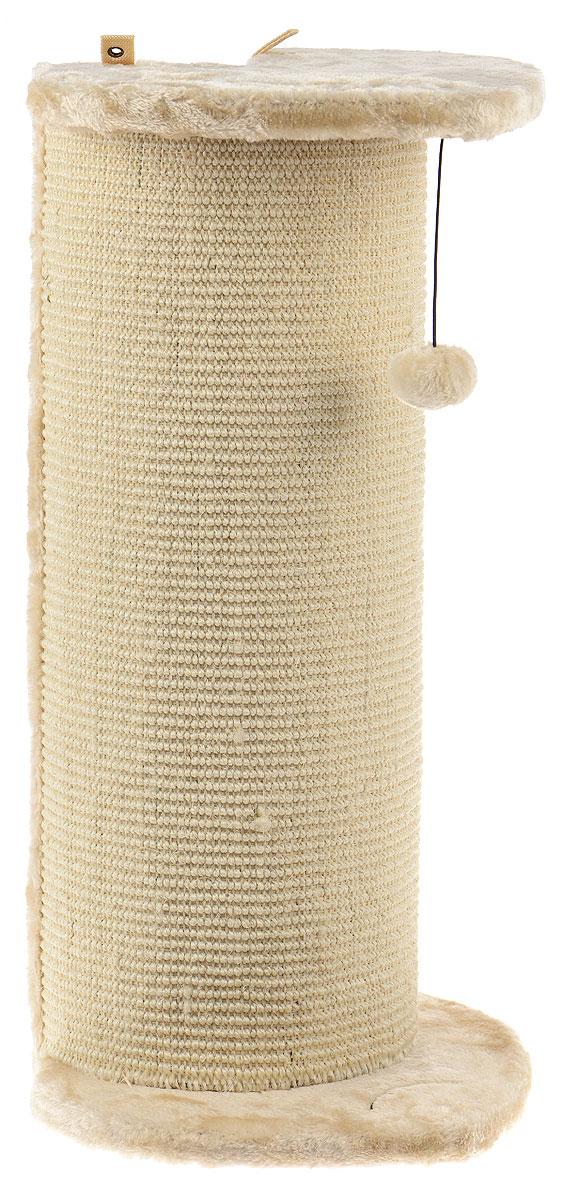 Когтеточка угловая Pet Fun Рыбка, 33,5 х 31,5 х 65 см0120710Угловая когтеточка Pet Fun Рыбка поможет сохранить мебель и ковры в доме от когтей вашего любимца, стремящегося удовлетворить свою естественную потребность точить когти. Когтеточка изготовлена из МДФ, искусственного меха и сизаля. Товар продуман в мельчайших деталях и, несомненно, понравится вашей кошке. Сверху имеется игрушка, которая привлечет питомца.Всем кошкам необходимо стачивать когти. Когтеточка - один из самых необходимых аксессуаров для кошки. Для приучения к когтеточке можно натереть ее сухой валерьянкой или кошачьей мятой. Когтеточка поможет вашему любимцу стачивать когти и при этом не портить вашу мебель.