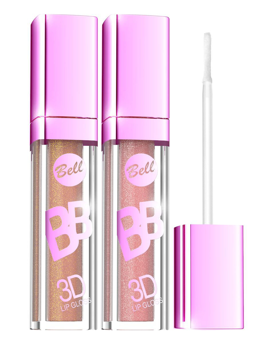 Bell Набор блесков визуально увеличивающих объем губ BB 3D Lip Gloss: тон №1, тон №2, 12 мл28032022Xрустальный Блеск и эффект разглаживания. Секрет действия Блеска для губ заключается в формуле, содержащей Crystal Shine Complex - маленькие частички, отражающие свет и обеспечивающие эффект 3D.Специально подобранные полимеры значительно улучшают увлажнение губ. Состав кондиционирующих компонентов увеличивает гибкость эпидермиса и гарантирует ощущение увлажненных губ. Легкая, кремовая формула не образует комочков и не склеивает губы.