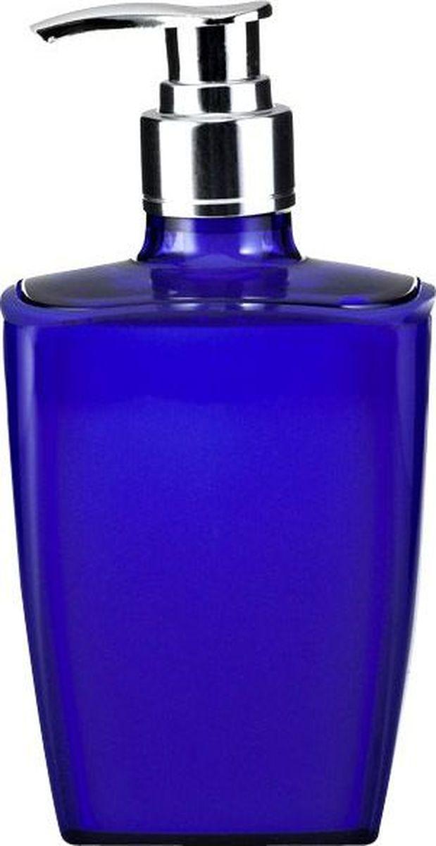 Дозатор для жидкого мыла Ridder Neon, цвет: синий68/5/3Данная серия изготавливается из акрилового стекла.Материал устойчив к ультрафиолету и мытью в посудомоечной машине.