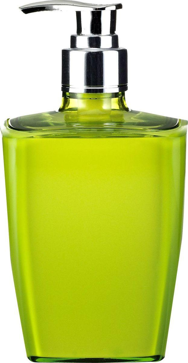 Дозатор для жидкого мыла Ridder Neon, цвет: зеленый68/5/3Данная серия изготавливается из акрилового стекла.Материал устойчив к ультрафиолету и мытью в посудомоечной машине.