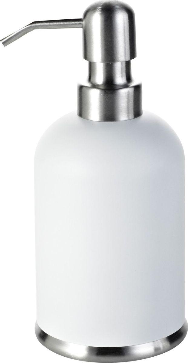 Дозатор для жидкого мыла Ridder Rondo, цвет: белый531-105Дозатор для жидкого мыла Rondo для удобства оснащен внутренней емкостью из пластика. Продукция серии Rondo полностью выполнена из высококачественной стали.Объем - 360 мл.