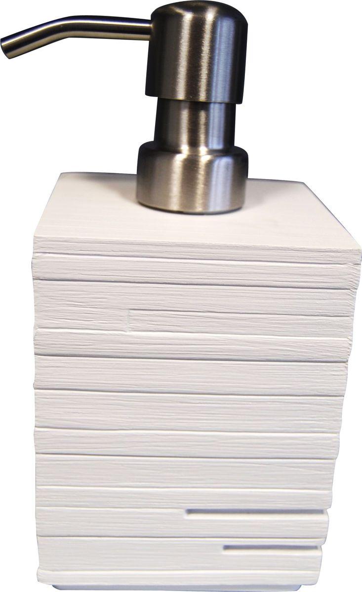 Дозатор для жидкого мыла Ridder Brick, цвет: белый, 430 млS03301004Дозатор для жидкого мыла Ridder Brick, изготовленный из экологичной полирезины и стекла,отлично подойдет для вашей ванной комнаты.Такой аксессуар очень удобен в использовании,достаточно лишь перелить жидкое мыло вдозатор, а когда необходимо использованиемыла, легким нажатием выдавить нужноеколичество. Дозатор для жидкого мыла Ridder Brickсоздаст особую атмосферу уюта и максимальногокомфорта в ванной.Объем дозатора: 430 мл.