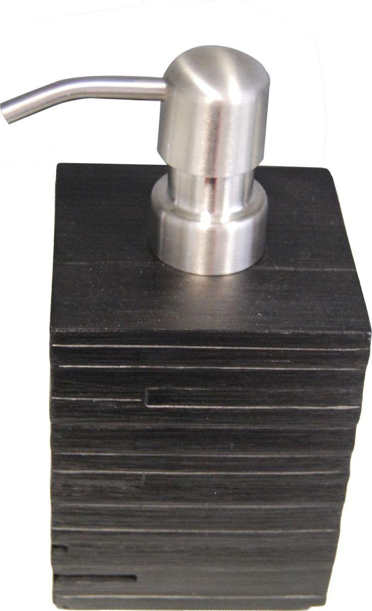 Дозатор для жидкого мыла Ridder Brick, цвет: черный, 430 мл68/5/3Дозатор для жидкого мыла Ridder Brick, изготовленный из экологичной полирезины и стекла,отлично подойдет для вашей ванной комнаты.Такой аксессуар очень удобен в использовании,достаточно лишь перелить жидкое мыло вдозатор, а когда необходимо использованиемыла, легким нажатием выдавить нужноеколичество. Дозатор для жидкого мыла Ridder Brickсоздаст особую атмосферу уюта и максимальногокомфорта в ванной.Объем дозатора: 430 мл.