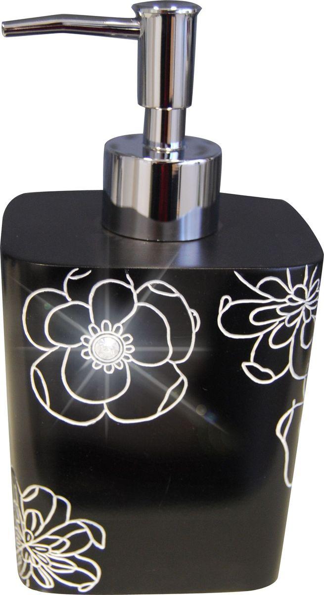 Дозатор для жидкого мыла Ridder Diamond, цвет: черныйa030041Дозатор для жидкого мыла Ridder Diamond, изготовленный из экологичного полирезина,отлично подойдет для вашей ванной комнаты.Такой аксессуар очень удобен в использовании,достаточно лишь перелить жидкое мыло вдозатор, а когда необходимо использованиемыла, легким нажатием выдавить нужноеколичество. Изделие устойчиво к ультрафиолету. Дозатор для жидкого мыла Ridder Diamondсоздаст особую атмосферу уюта и максимальногокомфорта в ванной.