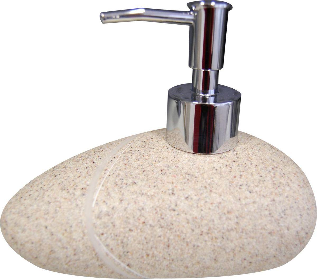 Дозатор для жидкого мыла Ridder Little Rock, цвет: бежевыйEDISB20i41Изделия данной серии устойчивы к ультрафиолету, т.к. изготавливаются из полирезины.Экологичная полирезина - это твердый многокомпонентный материал на основе синтетической смолы,с добавлением каменной крошки и красящих пигментов. Объем: 200 мл.