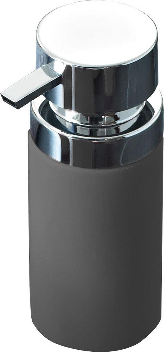 Дозатор для жидкого мыла Ridder Elegance, цвет: серый3479Дозатор для жидкого мыла Ridder, изготовленный из керамики и стали,отлично подойдет для вашей ванной комнаты. Такой аксессуар очень удобен в использовании, достаточно лишь перелить жидкое мыло вдозатор, а когда необходимо использование мыла, легким нажатием выдавить нужноеколичество. Объем дозатора: 210 мл.