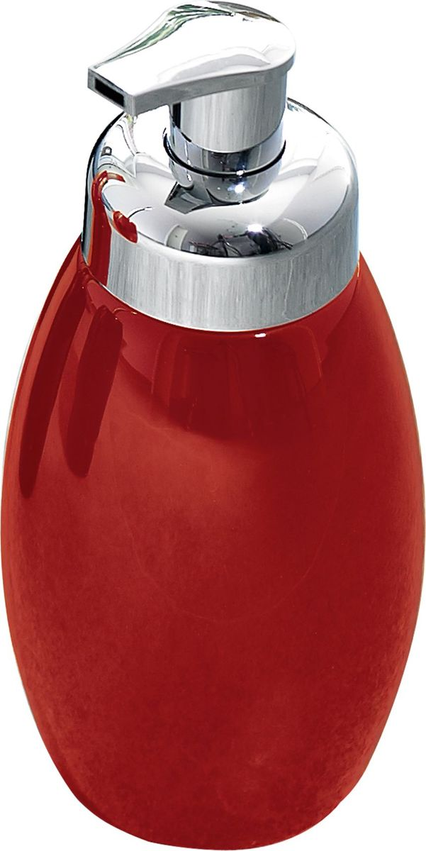 Дозатор для жидкого мыла Ridder Shiny, цвет: красныйRG-D31SДозатор для жидкого мыла Ridder, изготовленный из керамики и стали,отлично подойдет для вашей ванной комнаты.Такой аксессуар очень удобен в использовании, достаточно лишь перелить жидкое мыло вдозатор, а когда необходимо использование мыла, легким нажатием выдавить нужноеколичество. Дозатор для жидкого мыла Ridderсоздаст особую атмосферу уюта и максимальногокомфорта в ванной.Объем дозатора: 500 мл.