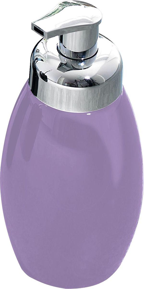 Дозатор для жидкого мыла Ridder Shiny, цвет: фиолетовый22230513Серия Shiny изготавливается из высококачественной керамики и покрывается слоем экологичного лака. Изделия устойчивы к ультрафиолету.Объём: 500 мл.