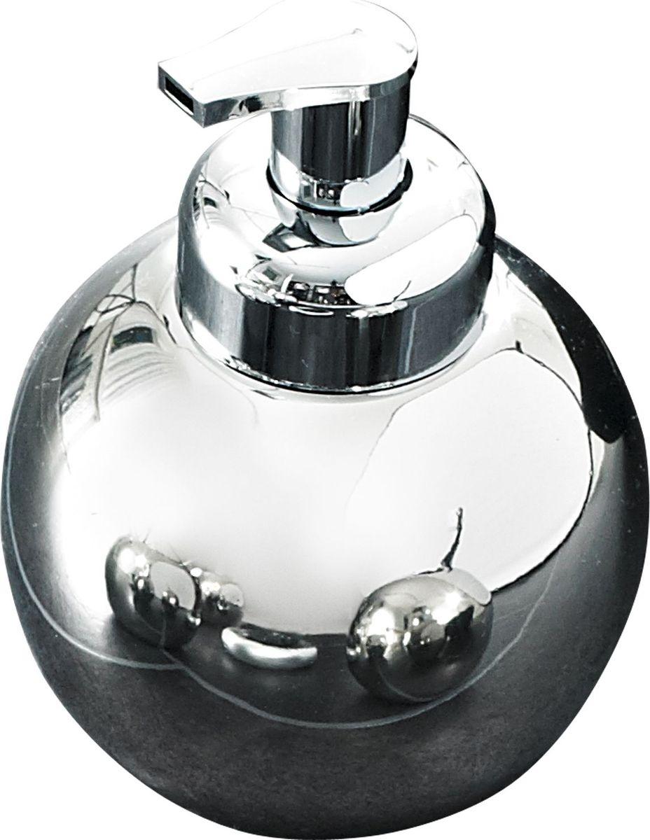 Дозатор для жидкого мыла Ridder Bowl, цвет: хром68/5/3Дозатор для жидкого мыла Bowl изготовлен из высококачественной керамики. Серия Bowl отдельно покрывается слоем хрома. Изделие устойчиво к ультрафиолету. Объем: 420 мл.