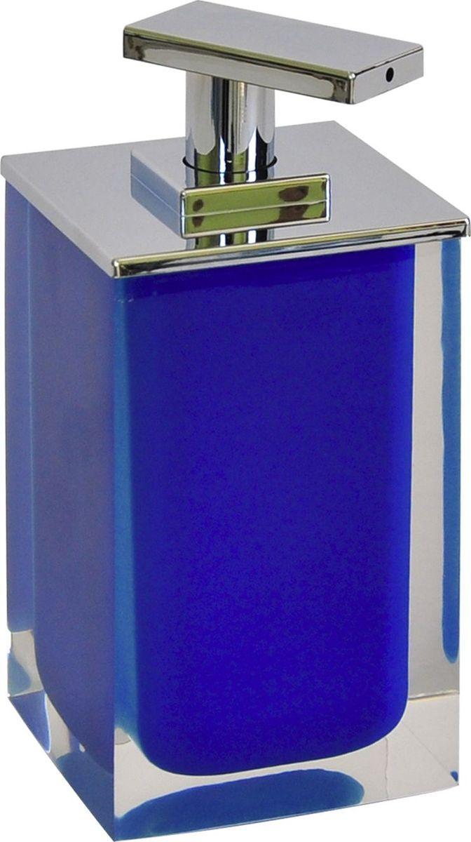 Дозатор для жидкого мыла Ridder Colours, цвет: синий, 300 мл68/5/3Дозатор для жидкого мыла Ridder Colours, изготовленный из экологичной полирезины,отлично подойдет для вашей ванной комнаты.Такой аксессуар очень удобен в использовании, достаточно лишь перелить жидкое мыло вдозатор, а когда необходимо использование мыла, легким нажатием выдавить нужноеколичество. Дозатор для жидкого мыла Ridder Colours создаст особую атмосферу уюта и максимальногокомфорта в ванной.Объем дозатора: 300 мл.