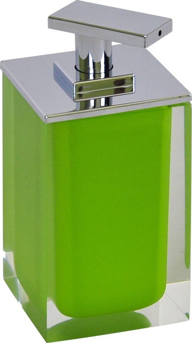 Дозатор для жидкого мыла Ridder Colours, цвет: зеленый, 300 млRG-D31SДозатор для жидкого мыла Ridder Colours, изготовленный из экологичной полирезины,отлично подойдет для вашей ванной комнаты.Такой аксессуар очень удобен в использовании, достаточно лишь перелить жидкое мыло вдозатор, а когда необходимо использование мыла, легким нажатием выдавить нужноеколичество. Дозатор для жидкого мыла Ridder Colours создаст особую атмосферу уюта и максимальногокомфорта в ванной.Объем дозатора: 300 мл.