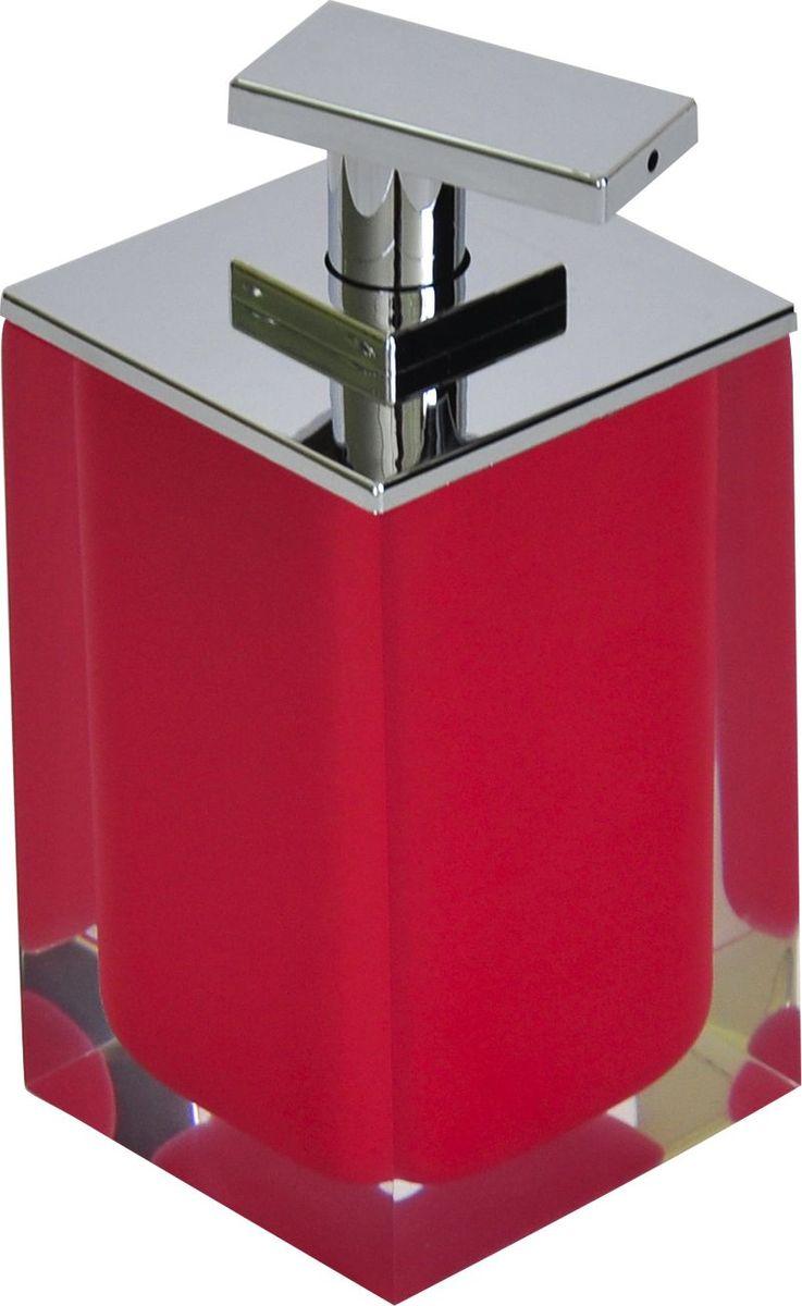 Дозатор для жидкого мыла Ridder Colours, цвет: красный, 300 мл68/5/1Дозатор для жидкого мыла Ridder Colours, изготовленный из экологичной полирезины,отлично подойдет для вашей ванной комнаты.Такой аксессуар очень удобен в использовании, достаточно лишь перелить жидкое мыло вдозатор, а когда необходимо использование мыла, легким нажатием выдавить нужноеколичество. Дозатор для жидкого мыла Ridder Colours создаст особую атмосферу уюта и максимальногокомфорта в ванной.Объем дозатора: 300 мл.