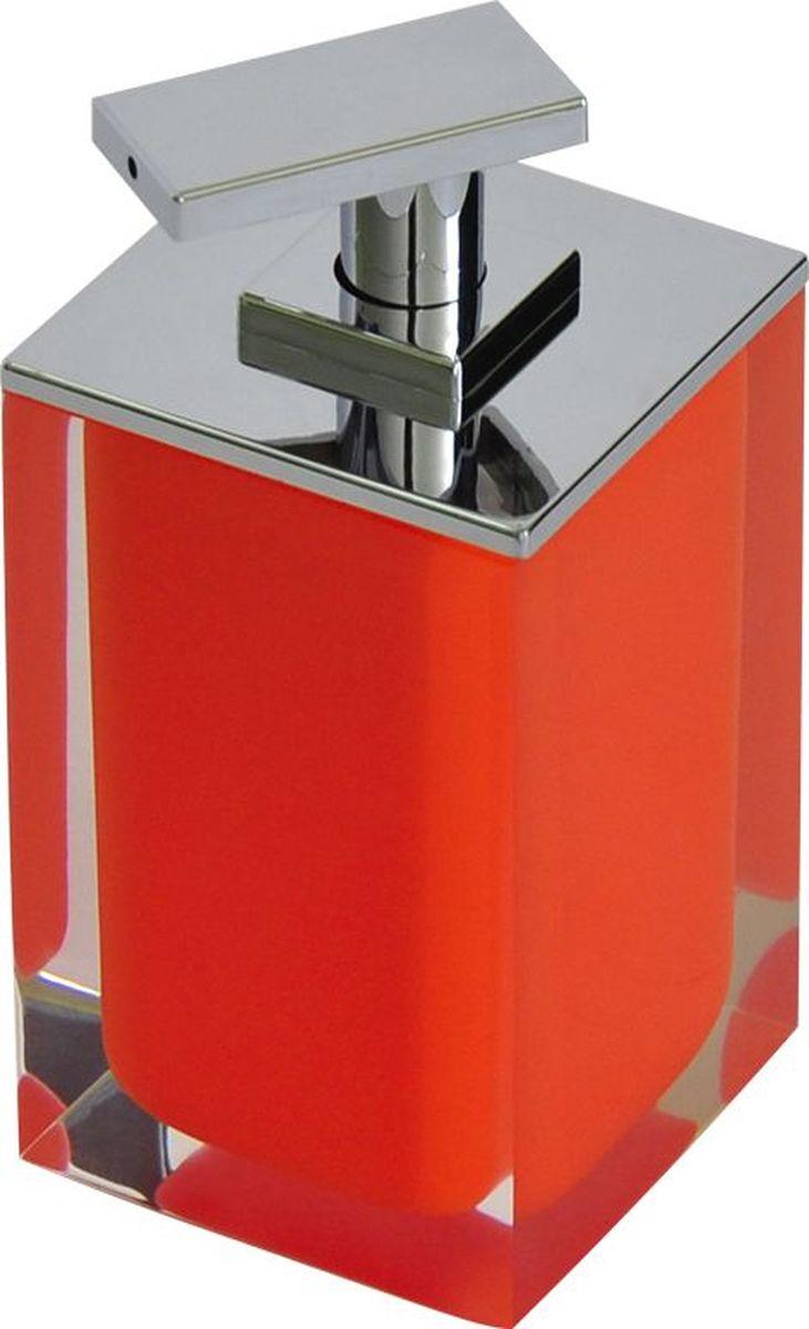 Дозатор для жидкого мыла Ridder Colours, цвет: оранжевый, 300 мл22280514Дозатор для жидкого мыла Ridder Colours, изготовленный из экологичной полирезины,отлично подойдет для вашей ванной комнаты.Такой аксессуар очень удобен в использовании, достаточно лишь перелить жидкое мыло вдозатор, а когда необходимо использование мыла, легким нажатием выдавить нужноеколичество. Дозатор для жидкого мыла Ridder Colours создаст особую атмосферу уюта и максимальногокомфорта в ванной.Объем дозатора: 300 мл.