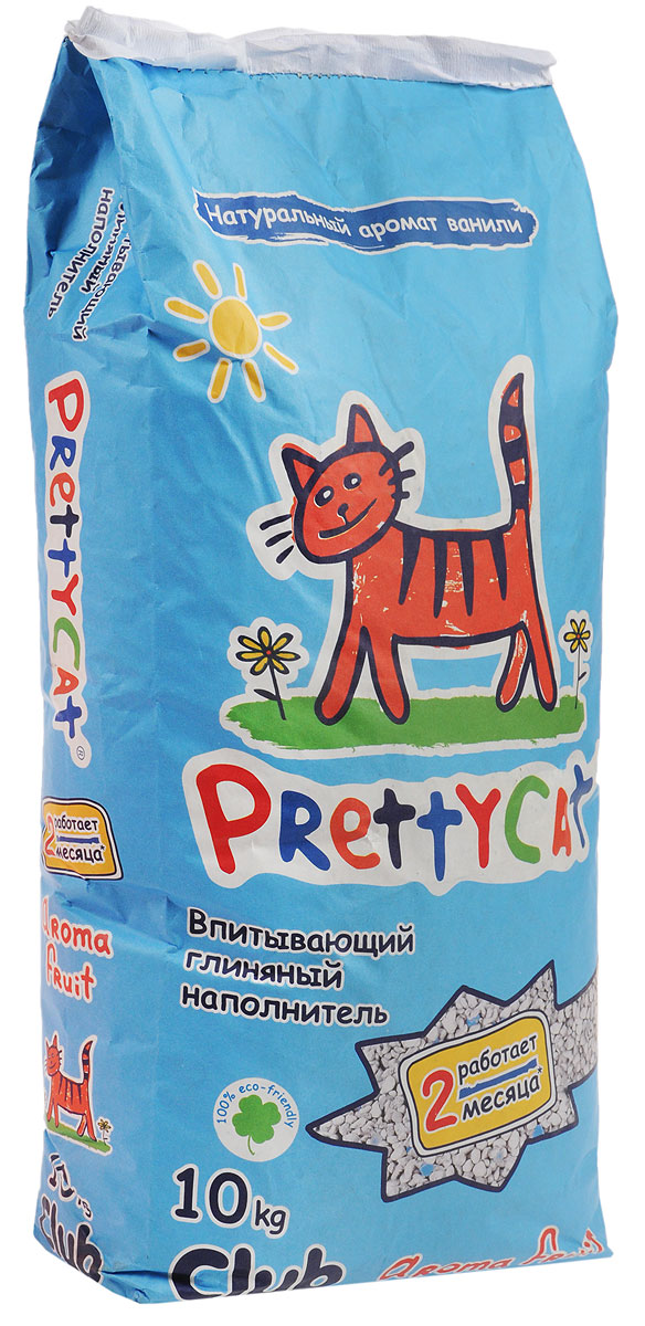 Наполнитель для кошачьих туалетов PrettyCat Aroma Fruit, с део-кристаллами, 10 кг. 6202910120710Наполнитель для кошачьих туалетов PrettyCat Aroma Fruit - это впитывающий глиняный наполнитель. Изготовлен из высококачественной цеолит глины, део-кристаллов, натуральных пищевых арома-масел. Это абсолютно экологически чистый продукт. Натуральные пищевые ароматизаторы с ароматом тропических фруктов и ванили безопасны для вашей кошки. От ее лапок всегда будет вкусно пахнуть ванилью. Глиняные гранулы прекрасно впитывают жидкость, предотвращают размножение бактерий и обеспечивают обеспыливание. Особые део-кристаллы устраняют запах, оставляя только фруктовый аромат. Благодаря новой формуле одной пачки хватает до 2-х месяцев. Впитывающий глиняный наполнитель нравится абсолютно всем кошкам и их хозяевам.Состав: цеолит глина, део-кристаллы, арома-масла.