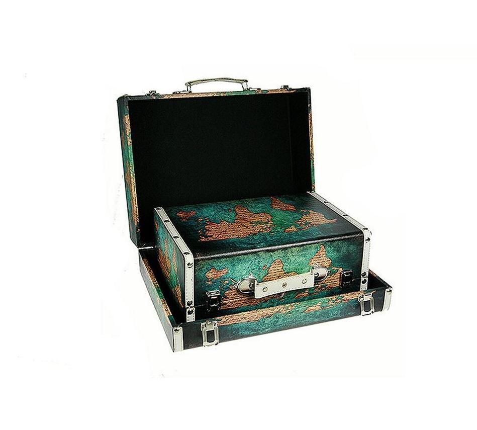 Набор сундучков Roura Decoracion, 40 х 30 х 16 см, 2 шт. 34766 набор сундучков из 2 х штук 24 17 11см 968655