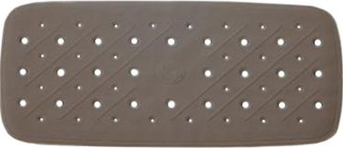 Коврик для ванной Ridder Promo, противоскользящий, на присосках, цвет: коричневый, 36 х 71 см поручень для ванной ridder promo цвет белый длина 60 см а1016001 page 9