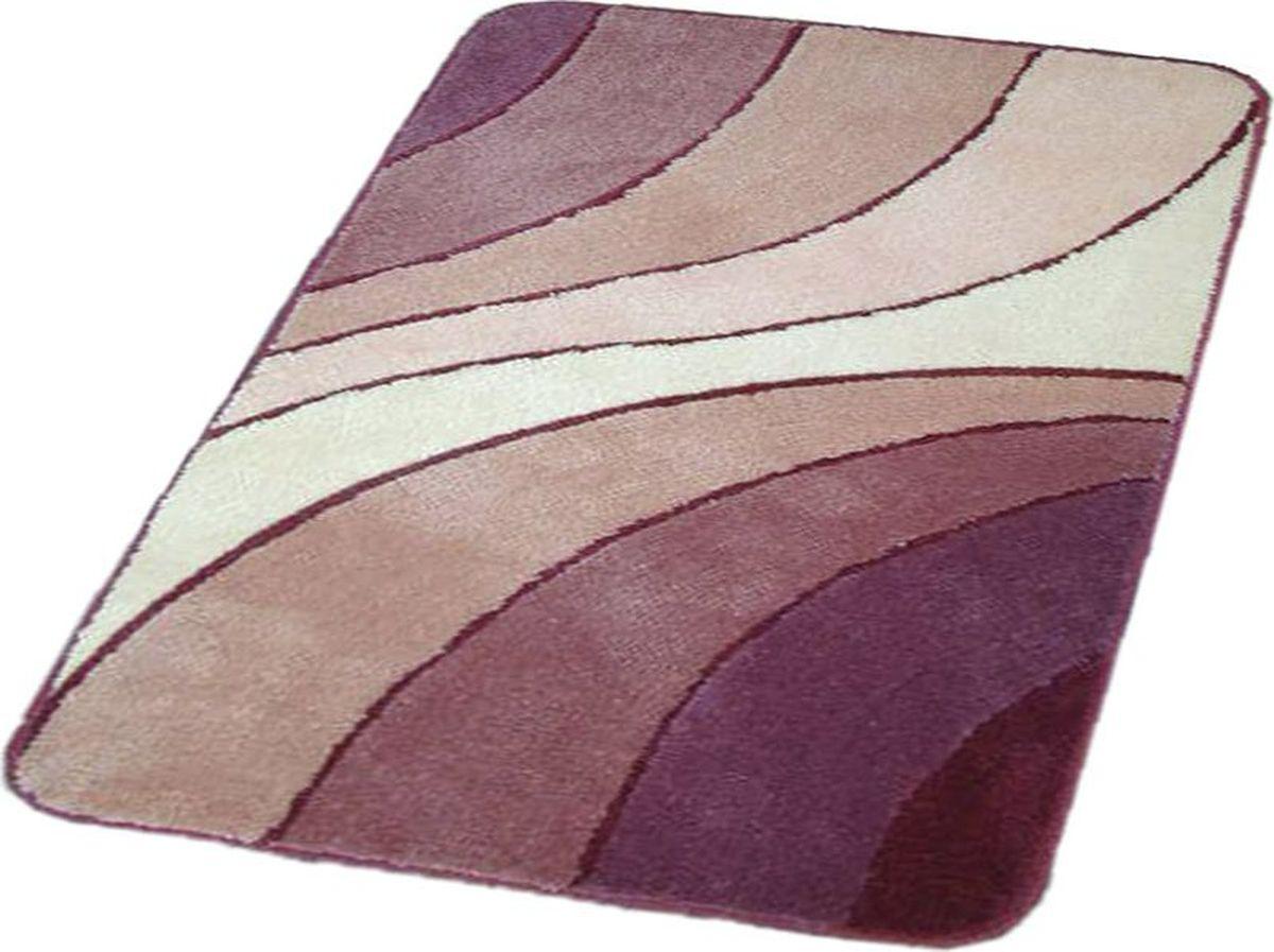 Коврик для ванной Ridder Portofino, цвет: розовый, 55 х 85 см коврик для ванной ridder grand prix цвет белый синий 55 х 85 см