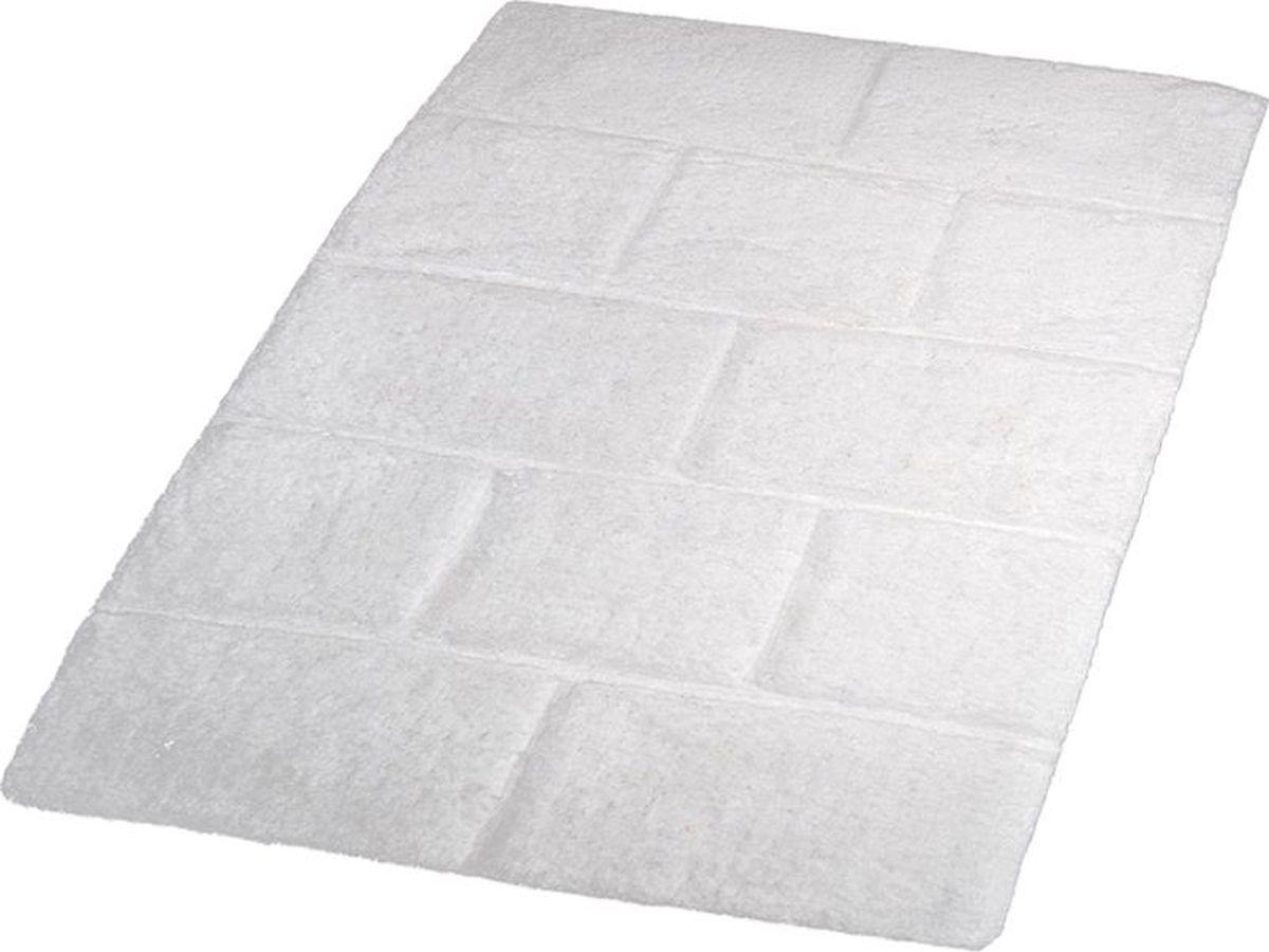 Коврик для ванной Ridder Wall, цвет: белый, 60 х 90 см коврик для ванной ridder grand prix цвет белый синий 55 х 85 см
