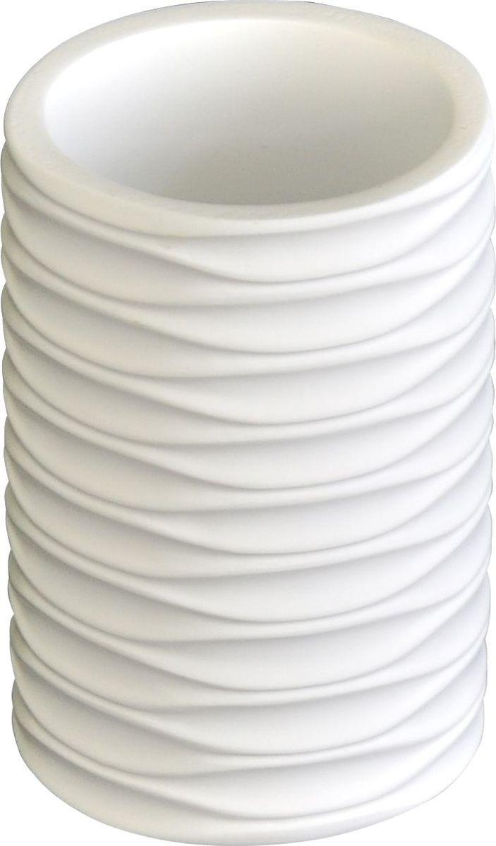 Стакан для ванной комнаты Ridder  Swing , цвет: белый - Аксессуары