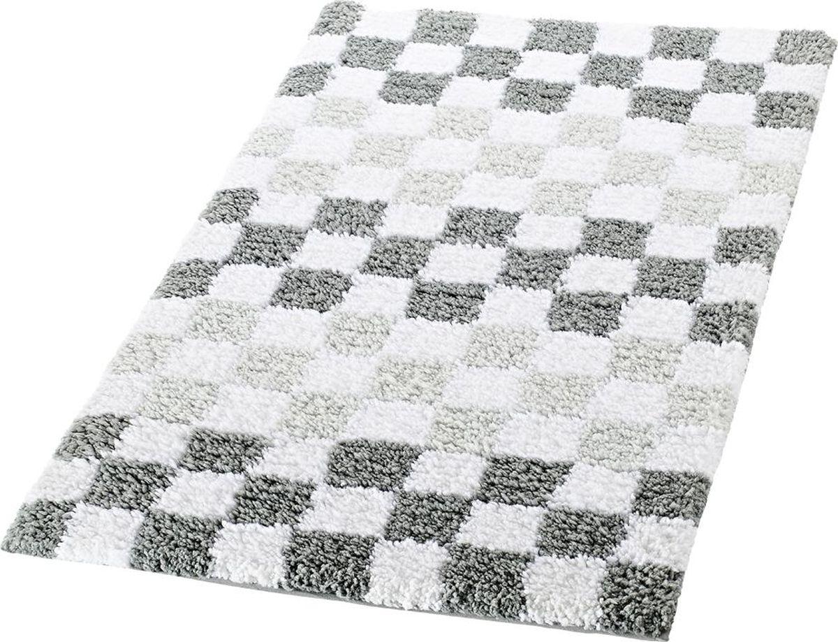 Коврик для ванной Ridder Grand Prix, цвет: серый, 55 х 85 см коврик для ванной ridder grand prix цвет белый синий 55 х 85 см