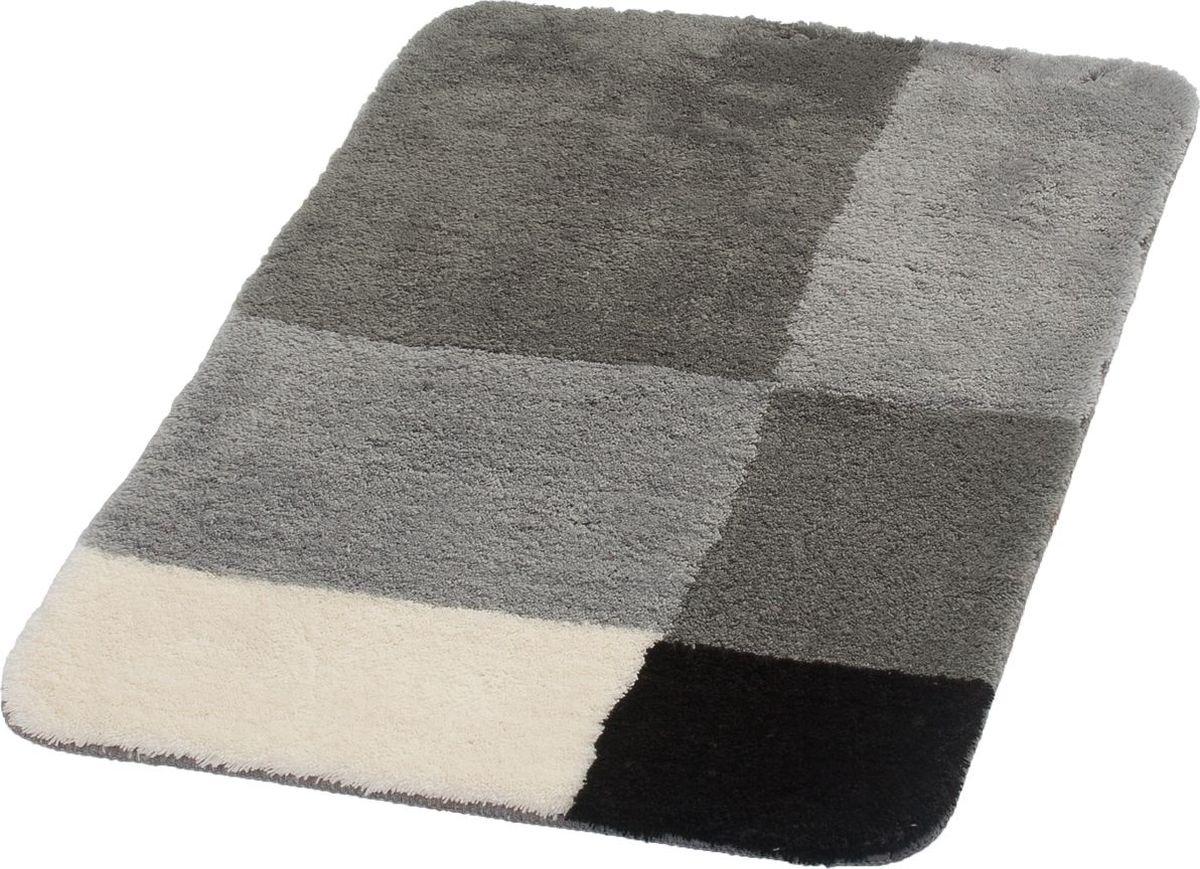 Коврик для ванной Ridder Pisa, цвет: серый, 70 х 120 см коврик для ванной ridder grand prix цвет белый синий 55 х 85 см