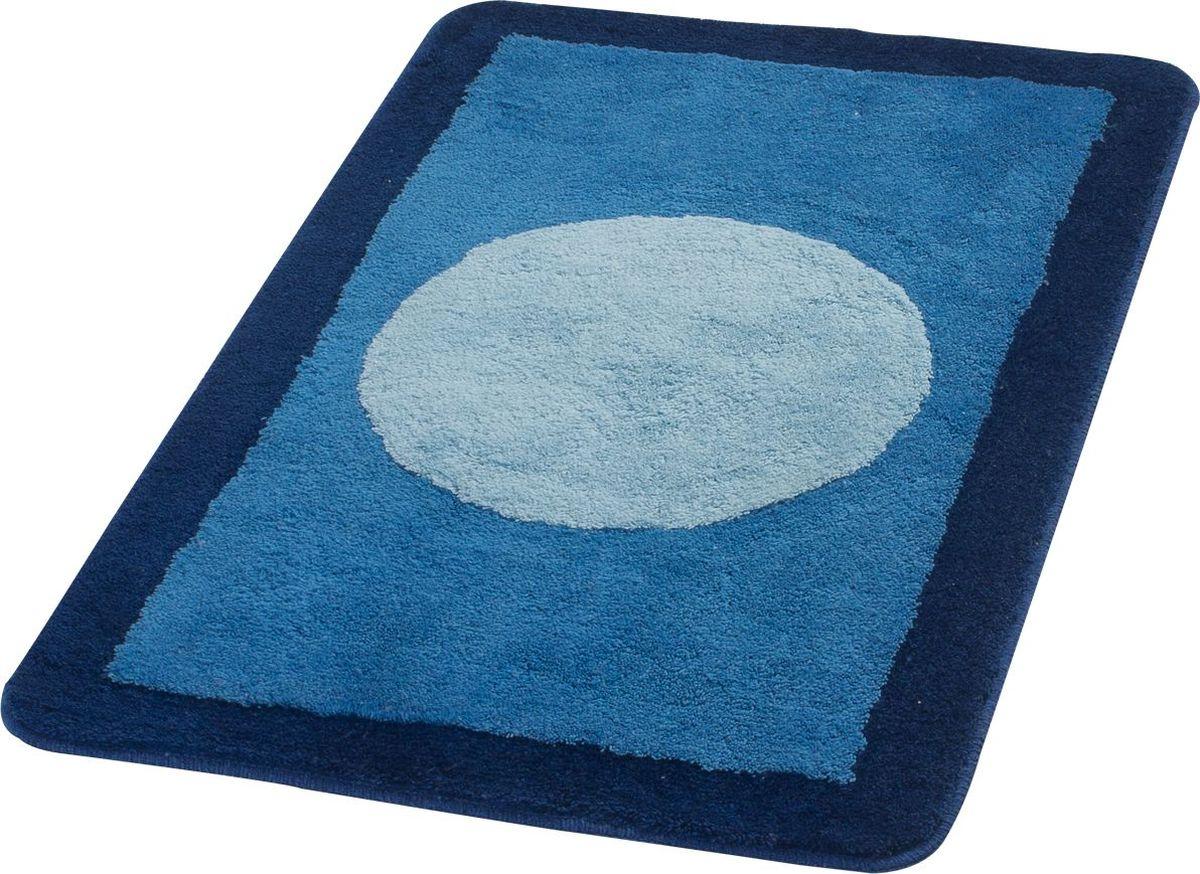 Коврик для ванной Ridder Macau, цвет: синий, голубой, 70 х 120 см коврик для ванной ridder grand prix цвет белый синий 55 х 85 см