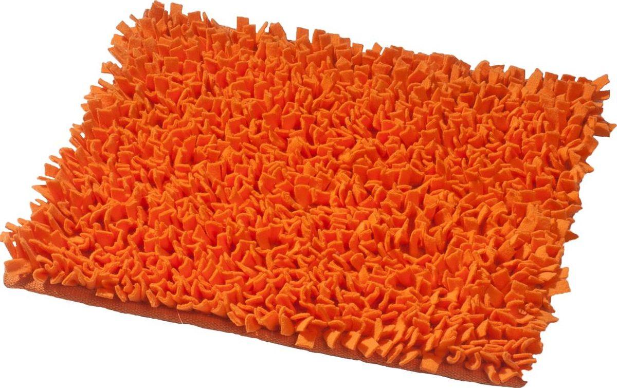 Коврик для ванной Ridder Hair, цвет: оранжевый, 55 х 50 см коврик для ванной ridder grand prix цвет белый синий 55 х 85 см