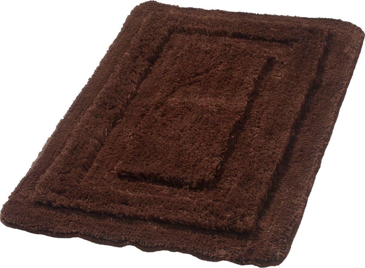 Коврик для ванной Ridder Juwel, цвет: бежевый, коричневый, 70 х 120 см денис кутепов шутки иафоризмы