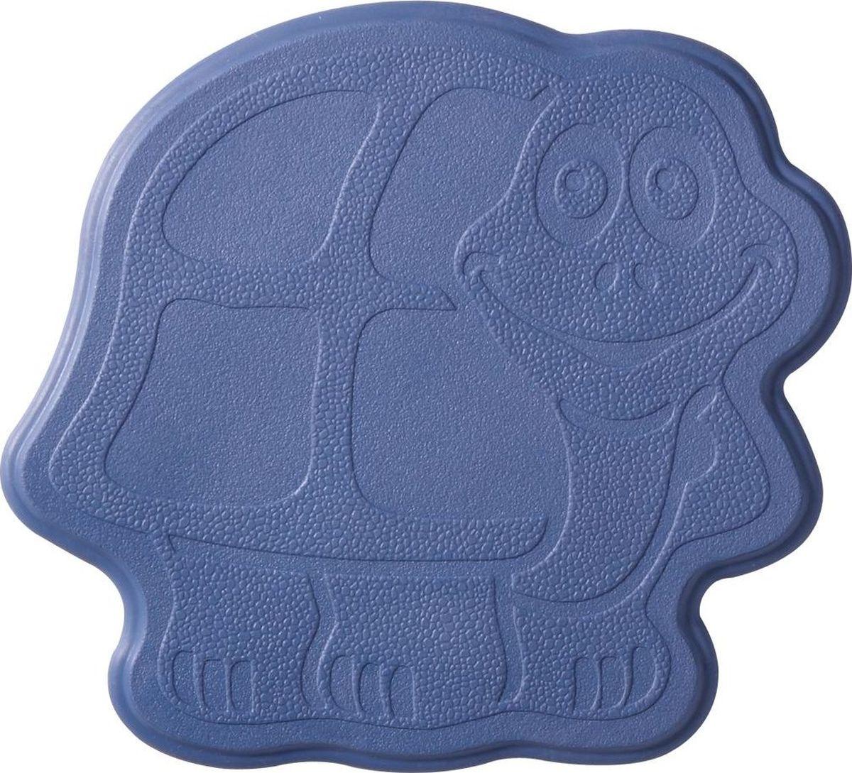 Набор ковриков для ванной Ridder Slip-Not XXS. Черепаха, на присосках, цвет: фиолетовый, 6 шт