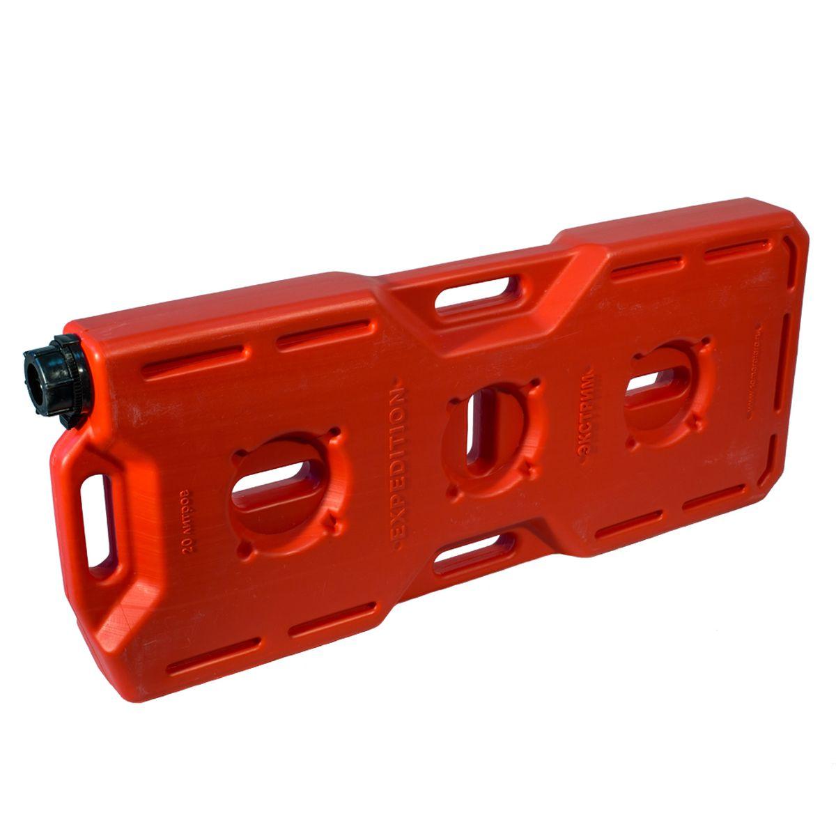 Канистра Экстрим Плюс, цвет: красный, 20 л 50 литровую канистру в спб пластик
