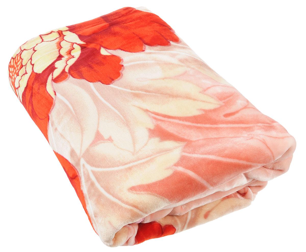 Плед Tamerlan, нестриженый, цвет: красный, 200 х 240 см плед toledo нестриженый цвет красный 110 х 140 см 75943