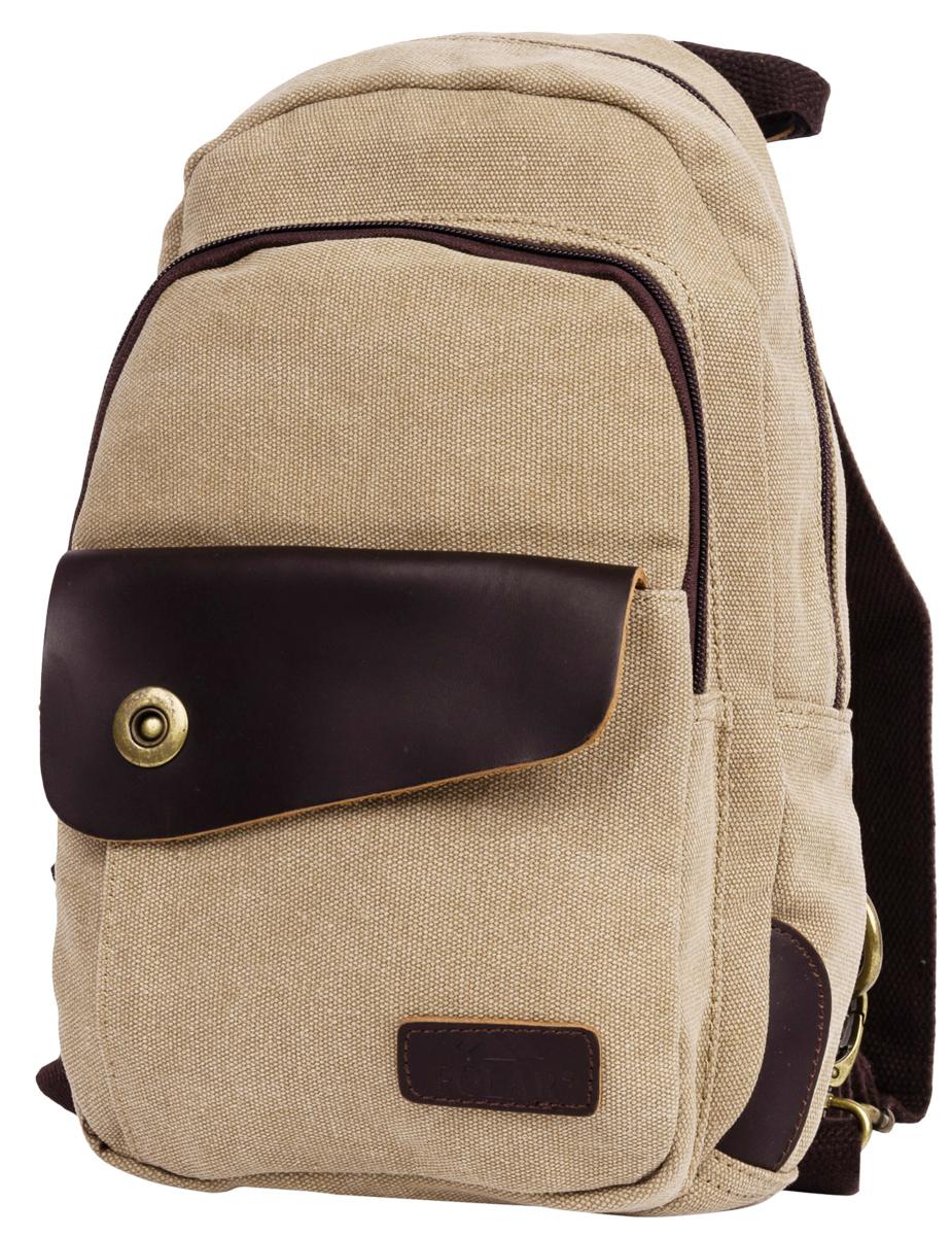 Рюкзак городской женский Polar Adventure, цвет: бежевый, 3,6 л. п2062-13