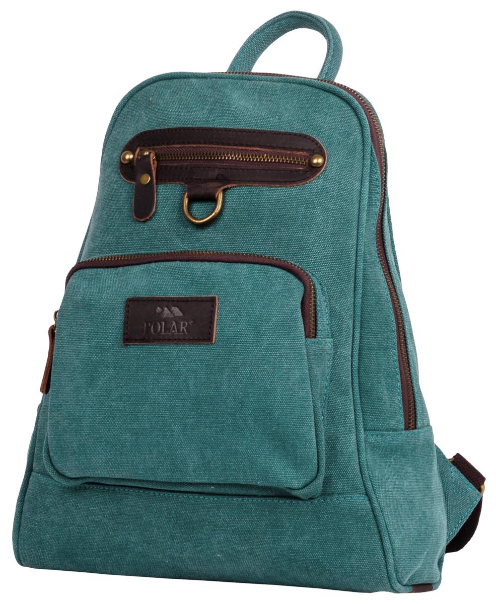 Рюкзак городской женский Polar  Adventure , цвет: бирюзовый, 8,5 л. п8001-09 green - Рюкзаки