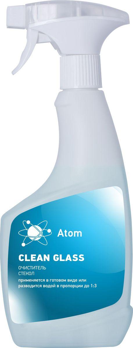 """Средство для очистки стекол Atom """"Clean Glass"""", 0,5 кг"""