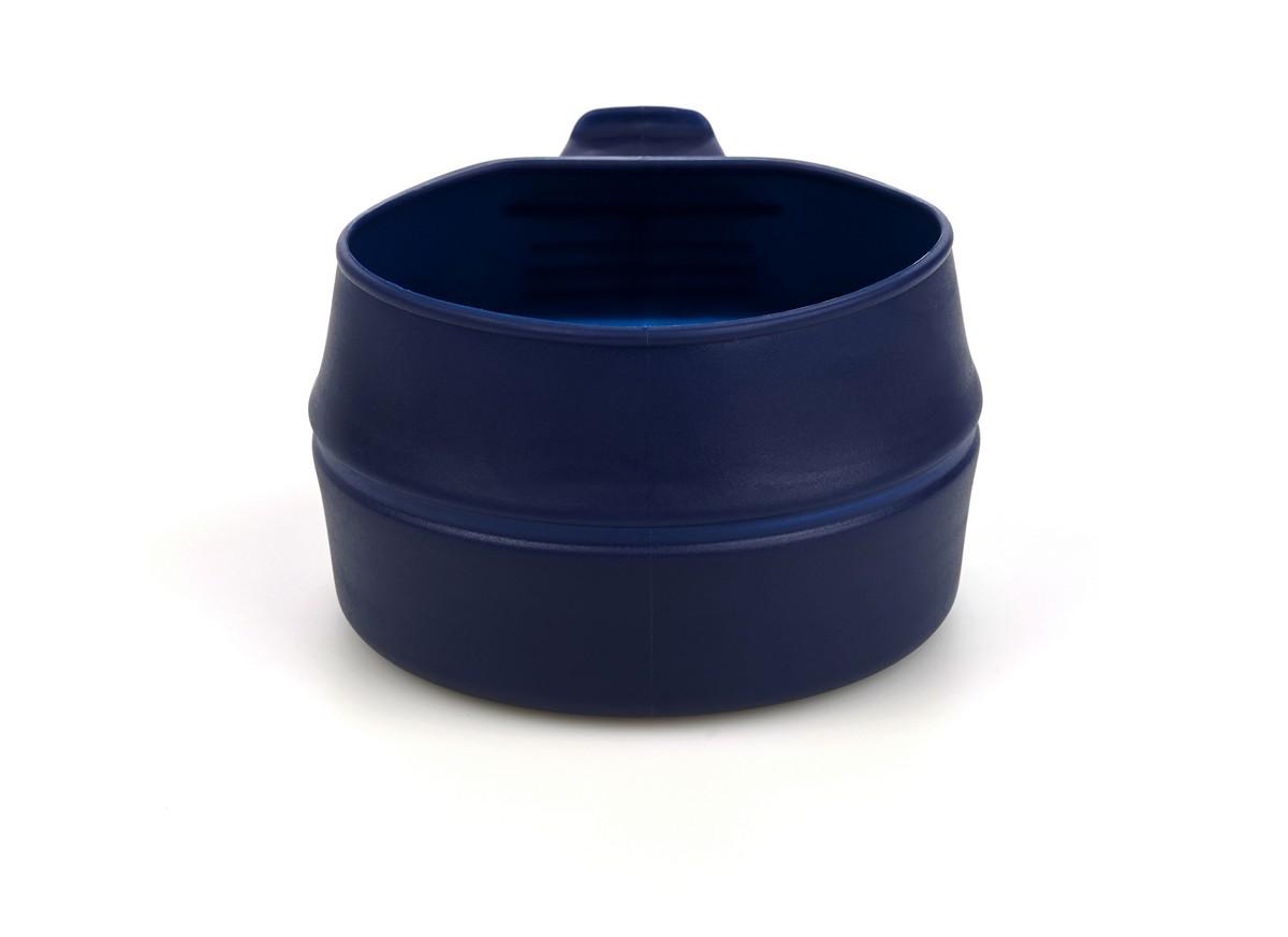 """Кружка складная Wildo """"Fold-a-Cup"""", портативная, цвет: темно-синий, 0,25 л"""